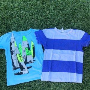 EUC Crewcuts t shirts for boys